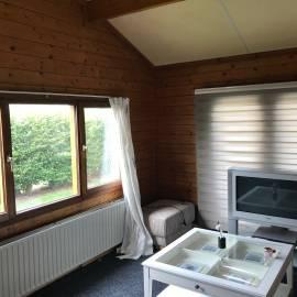 te koop winterfestes chalet camping ijsselstrand. Black Bedroom Furniture Sets. Home Design Ideas